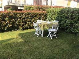 möblierter Garten