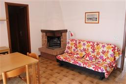 Wohnküche mit Schlafcouch